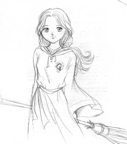 Klub fanou k harryho pottera fotoalbum kreslen for Quidditch coloring pages
